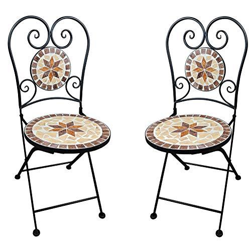 de Balcon Dszapaci Jardin Pliante Mosaic Chaise Chaise rCodexB