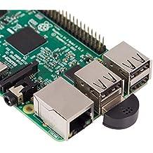 SunFounder USB 2.0 Mini Microphone for Raspberry Pi 3, 2 Module B & RPi 1 Model B+/B Laptop Desktop PCs Skype VOIP Voice Recognition Software
