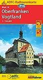 ADFC-Radtourenkarte 18 Oberfranken /Vogtland 1:150.000, reiß- und wetterfest, GPS-Tracks Download und Online-Begleitheft (ADFC-Radtourenkarte 1:150000, Band 18) -