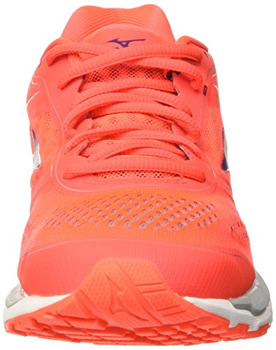 Mizuno Damen Synchro Mx Wos Trainingsschuhe Rosso (Fierycoral/Mulberrypurple/Highrise)