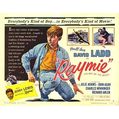 Raymie Poster film metà, 22 x 28, 56 x 72 cm, serie: David Ladd Julie John Adams Agar Charles Winninger Richard Arlen