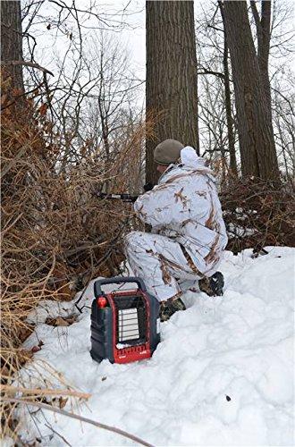 Mr. Heater Portable Buddy Gasheizung inkl. Adapter für Gaskartuschen mit 7/16-Gewinde; - 14