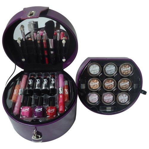 Gloss! Mallette de Maquillage Glam's Purple - 33pcs