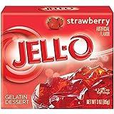 Jell-O à la fraise Gelée 85g [Misc.] [Divers].