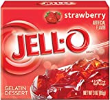 Jell - O Gelatine Dessert Strawberry (Erdbeere) 85 gr.