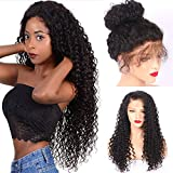Lady Wig Perruque De Cheveux Humains Malaisienne/Brésilienne 8A pour Femme avec Bouchon Avant en Dentelle, Châtaignier Naturel (26 Pouces)