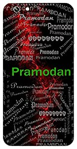 Pramodan (Lord Vishnu) Name & Sign Printed All over customize & Personalized!! Protective back cover for your Smart Phone : Samsung Galaxy Note-3
