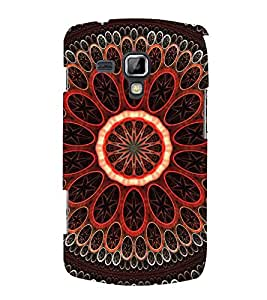 PrintVisa Wheel Colour Pattern 3D Hard Polycarbonate Designer Back Case Cover for Samsung Galaxy S Duos 2 S7582 :: Samsung Galaxy Trend Plus S7580