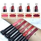 Lipstick Lipstick TAOtTAO 5 STÜCKE Neue Mode Wasserdichte Matte Lippenstift Kosmetische Sexy Lipgloss Liphop Kit (B)