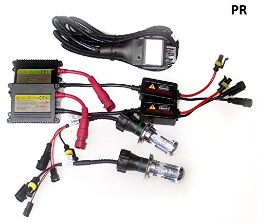 PR HID Light Kit 55watt (6 Month Warranty) (H1 or H4 or H7 or H8 or H K Hid Wiring Harness on