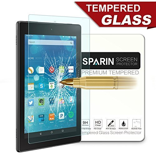 fire-7-screen-protector-sparin-tempered-glass-screen-protector-for-fire-tablet-7-2015-released-bubbl