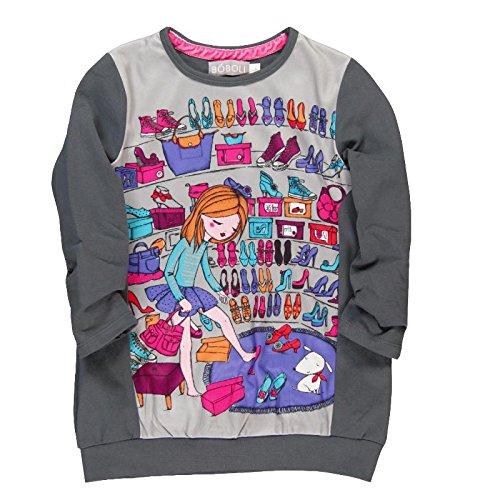boboli-vestido-punto-combinado-vestido-para-bebes-color-granito-talla-2-anos