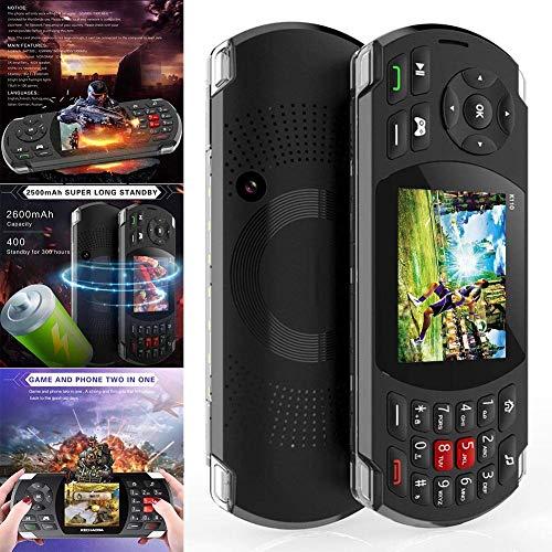 Elitemill Handy Spiel Kontrolleur, Spiel Konsole Handy Hand Gehalten Gprs Dual SIM Eingebautem 84 Game 2.8Inch Display Gprs-handy