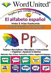 The Spanish Alphabet: Write & Wipe Flashcards