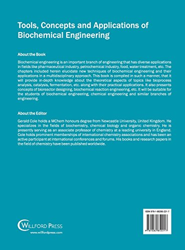 Tools, Concepts and Applications of Biochemical Engineering