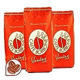 6 Buste Confezioni 1 kg Caffe' Borbone in Grani Miscela Rossa Vending Originale