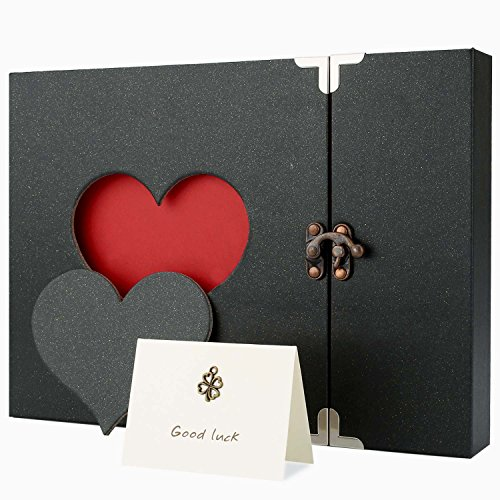 Vintage Hollowed Heart Scrapbook Memory