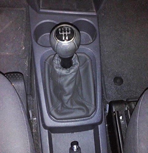 ilTappetoAuto Sprint03408 Tappetini Auto Moquette Nera Antiscivolo Bordatura Nera con Rigolo Grigio Salvatacco in Gomma Lato Guidatore