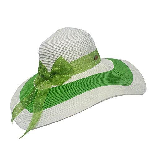 Mme chapeau d'été/Pliage chapeau/Chapeau de paille Chapeau de plage/Dayan Mao/chapeau de soleil A