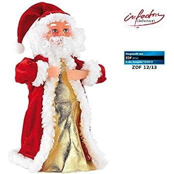 infactory weihnachtsartikel singender und tanzender xxl. Black Bedroom Furniture Sets. Home Design Ideas