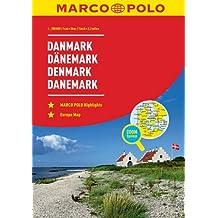 MARCO POLO Reiseatlas Dänemark 1:200 000: Wegenatlas 1:200 000 (MARCO POLO Reiseatlanten)