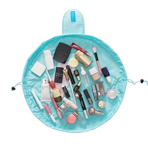 LCLrute Portable Beauty Drawstring Reise Make-up Tasche Organizer Lagerung Schmuck Kosmetik
