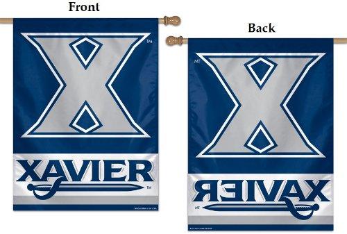 Wincraft Xavier University House Flag 2013 Vertikales Banner 27 x 37 cm Xavier University