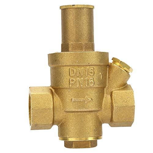 """Messing Druckminderventil Einstellbare Wasserdruckminderventil Gewinde DN15 1/2"""""""