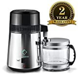 LifeBasis Water Distiller with Glass Collection Bottle(FREE TDS AS GIFT)
