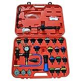 Solarnovo 27 Adaptador Manómetro de Refrigerador Indicador de Aire de Neumáticos Rueda de Motor Coche Medidor Compresión Perfecto para Mecánica Doméstica Seguridad