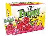 Frutti Instant Getränkepulver ohne Zucker - Geschmackrichtung: Raspberry Himbeere 24er Packung