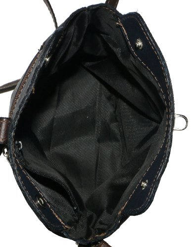 Vero cuoio italiano morbido o effetto struzzo, attraversare il piccolo corpo o spalla borsetta.Include una custodia protettiva marca Marrone (marrone)