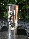 Or Friedhofsvase Vase aus Edelstahl Grabvase Edelstahlvase