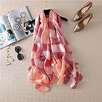 Pañuelos de seda Pañuelo de seda en el otoño y primavera verano variedad femenina Toalla de