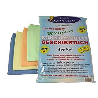 Aqua Clean Sonnenscheinglanz Geschirrtücher 4er
