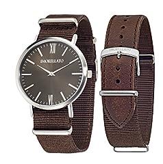 Idea Regalo - Morellato VELA R0151134007 - Orologio da polso da uomo, analogico, al quarzo, cinturino in pelle