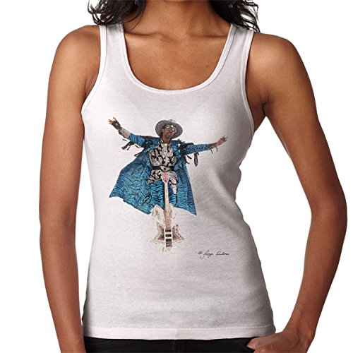 George DuBose Official Photography - Bootsy Collins Guitar Women's Vest
