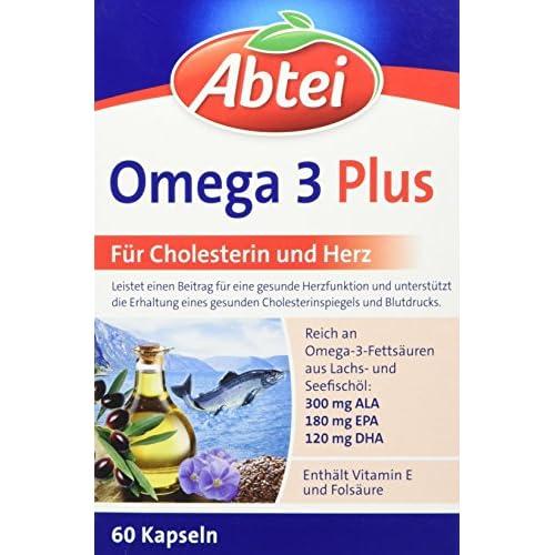 Abtei Omega 3 6 9 Lachsl Und Leinl Plus Olivenl 60 Kapseln 1er Pack 1 X 99g