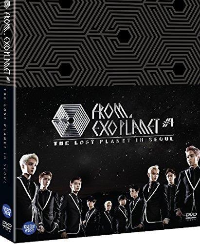 Preisvergleich Produktbild EXO FROM. EXOPLANET 1 - THE LOST PLANET in SEOUL (3DVDs + Photobook) (Korea Version,  + 1 Random Member poster)[+EXO polaroidcard(+including signature)][+EXO postcard(10cmx15cm)][+EXO personal sticker][+EXO pop-up standing sticker][+EXO stamp sticker]