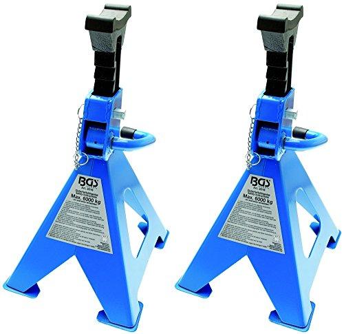 BGS 3016 | Unterstellböcke | Traglast 6000 kg / Paar | Hub 420 - 600 mm | 1 Paar