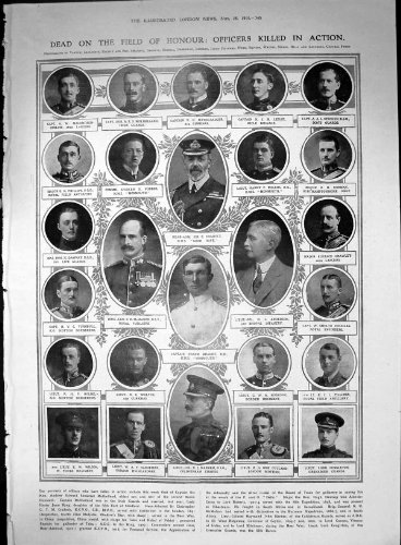 Offiziere Beendeten Vorgang Hinteres Adm C Cradock Frank Brandt N Leslie 1914