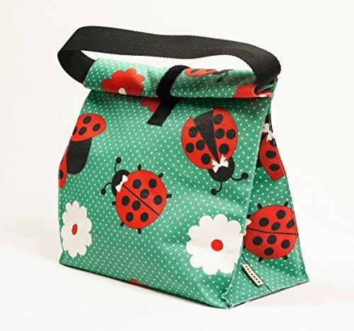 bolsa-de-almuerzo-color-verde-estampado-mariquitas-bolsa-reutilizable-para-comida-bolsa-picnic-bolsa