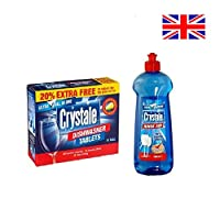 Crystale Starter Combo - Rinse Aid & Dishwasher Tablets Combo
