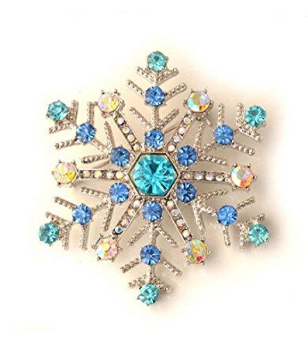 Sunnywill 1 Stk Weihnachten Schneeflocke Brosche Geschenke für (Kostüm Nägel Fee)