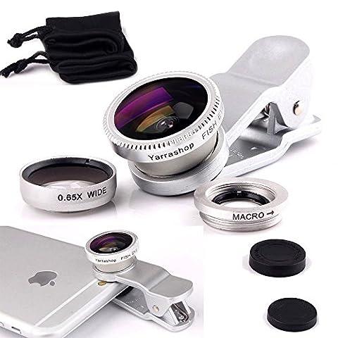 Yarrashop® 3 in 1 Mobile Phone Camera Lens Kit 180