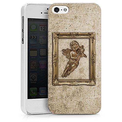 Apple iPhone X Silikon Hülle Case Schutzhülle Engel Angel Gemälde Hard Case weiß