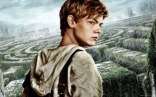 The Maze Runner Poster Affiche de la Soie On Silk - C96A23