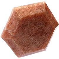 budawi® - Aprikosen Mondstein Feenstein ca. 40 x 40 mm, Edelstein Aprikosen Mondstein, Massage Stein, Mondstein preisvergleich bei billige-tabletten.eu