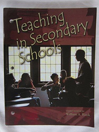 Teaching In Secondary Schools