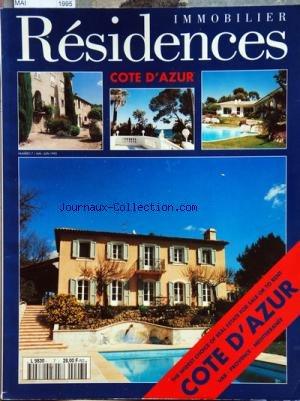 RESIDENCES IMMOBILIER [No 7] du 01/05/1995 - LA COTE D'AZUR par Collectif